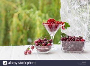 zumo de cereza