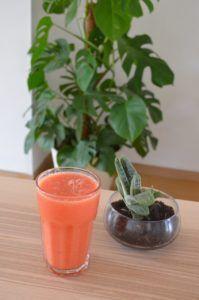 zumo de sandia y naranja