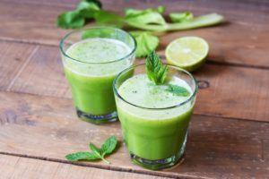 zumo verde receta