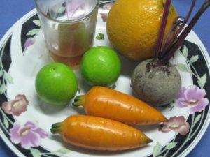 zumo zanahoria y naranja