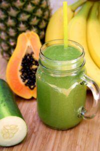 zumos con papaya