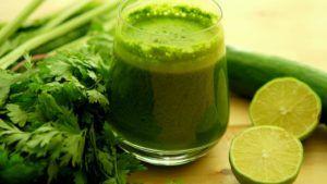 zumos verdes desintoxicantes